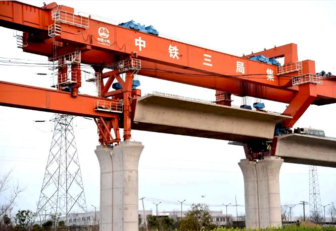 盐通高铁5标架梁告捷 两个国内首次在这里诞生了