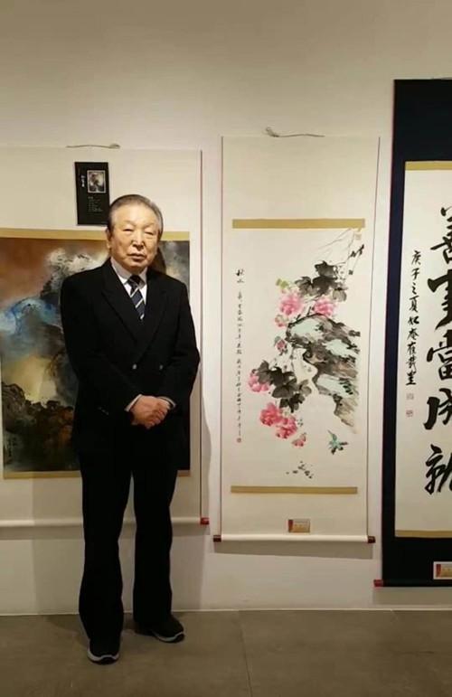 杰出艺术家俞桂中老师的作品何以身价倍增