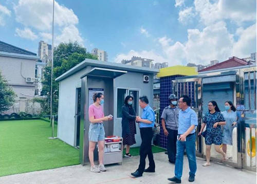 长河新苑幼儿园迎来扬州经济技术开发区教育集团领导实地考察